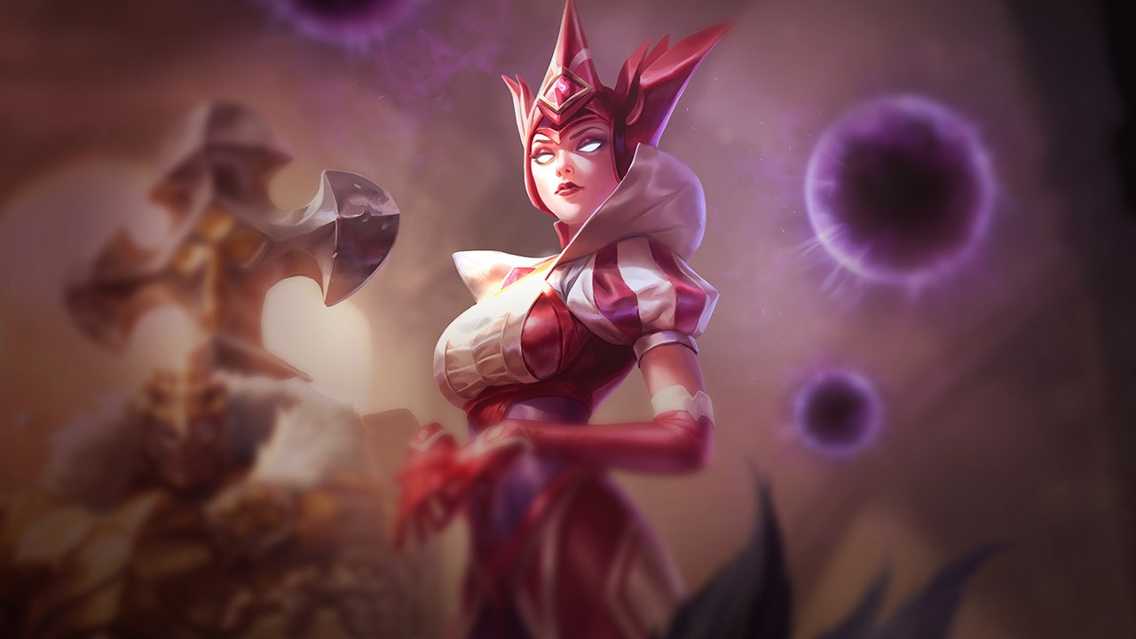 Queen of Diamonds Syndra