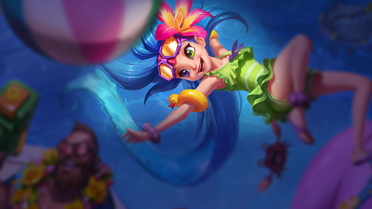 Pool Party Zoe