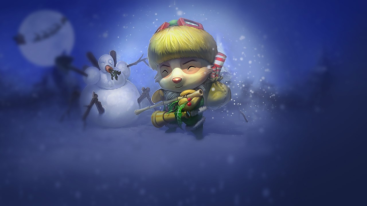 Happy Elf Teemo