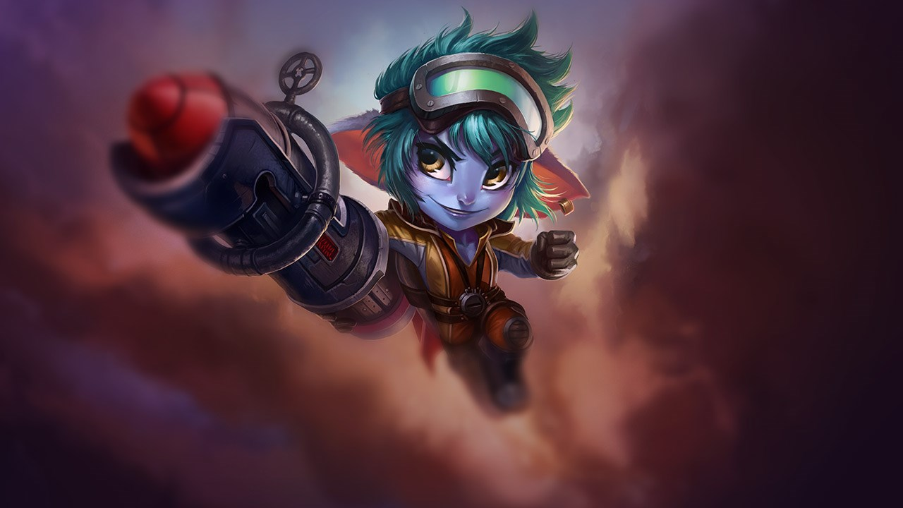 Rocket Girl Tristana