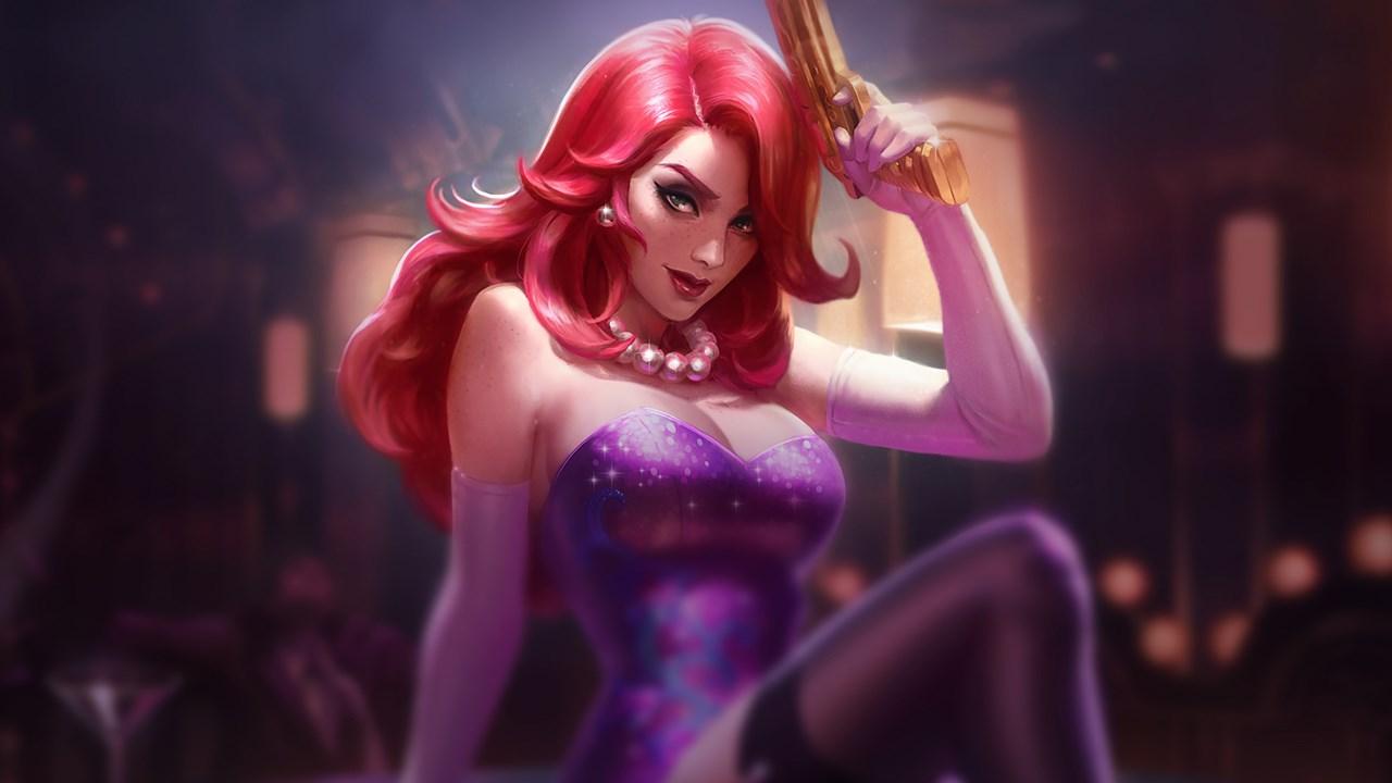 Secret Agent Miss Fortune