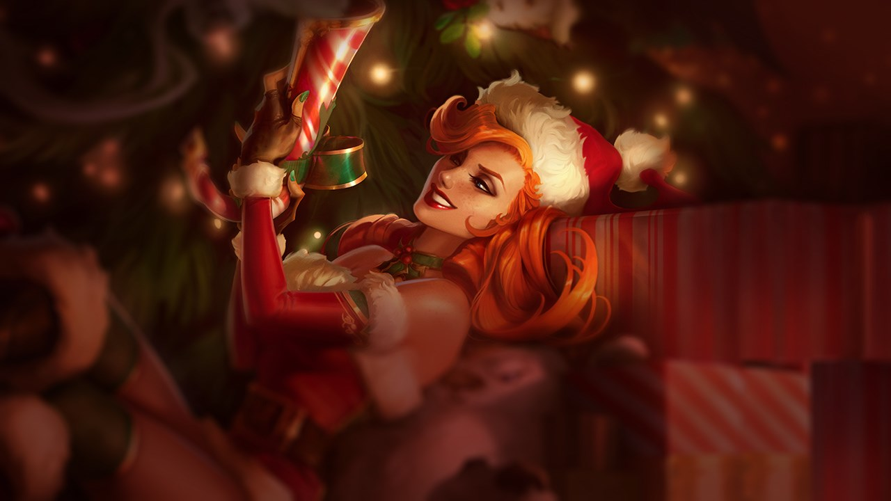 Candy Cane Miss Fortune