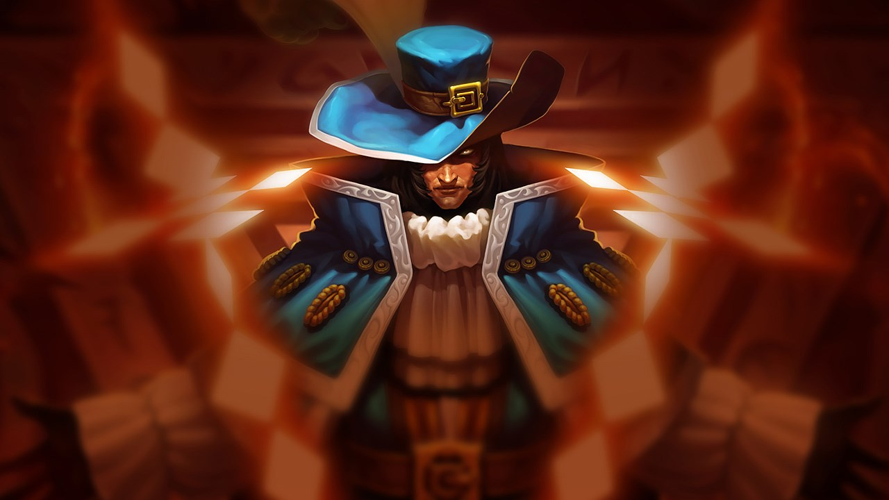 Musketeer Twisted Fate